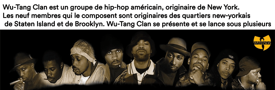 Boutique WU TANG CLAN, Achat en ligne sur Magic-custom.com,