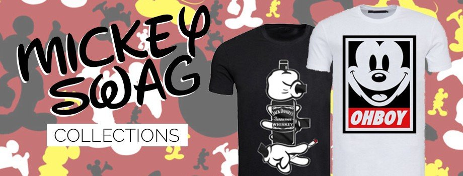 Collection Mickey Swag sur magic-custom.com