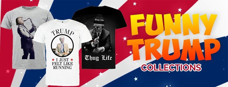 COLLECTION FUNNY DONALD TRUMP - MAGIC-CUSTOM
