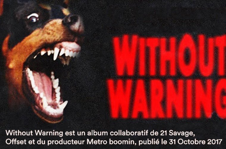 Without Warning Merch sur Magic-custom.com
